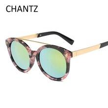 Barato de La Vendimia gafas de Sol Redondas Mujeres Hombres Diseñador de la Marca Reflectante Espejo de Conducción Gafas de Sol UV400 Shades Gafas De Sol Mujer