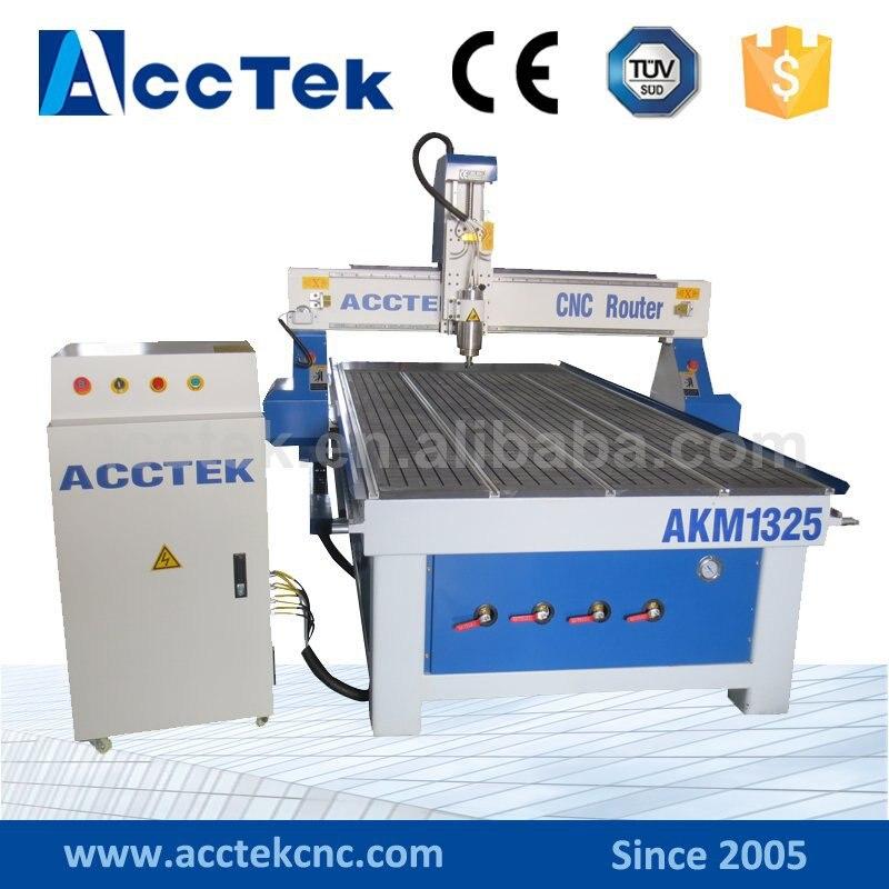 Bonne qualité AccTek AKM1325 multifonctionnel cnc machine pour vente/3d modèle en bois routeur