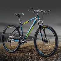 steel 26 inch 21s mountain bike 18 inches frame 1.95 tire Men Women Student Bicycle PURK 160 brakes SHIMANO shifter PULID mtb