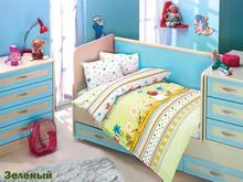 Комплект постельного белья для новорожденных ALTINBASAK, GULUCUK, зеленый