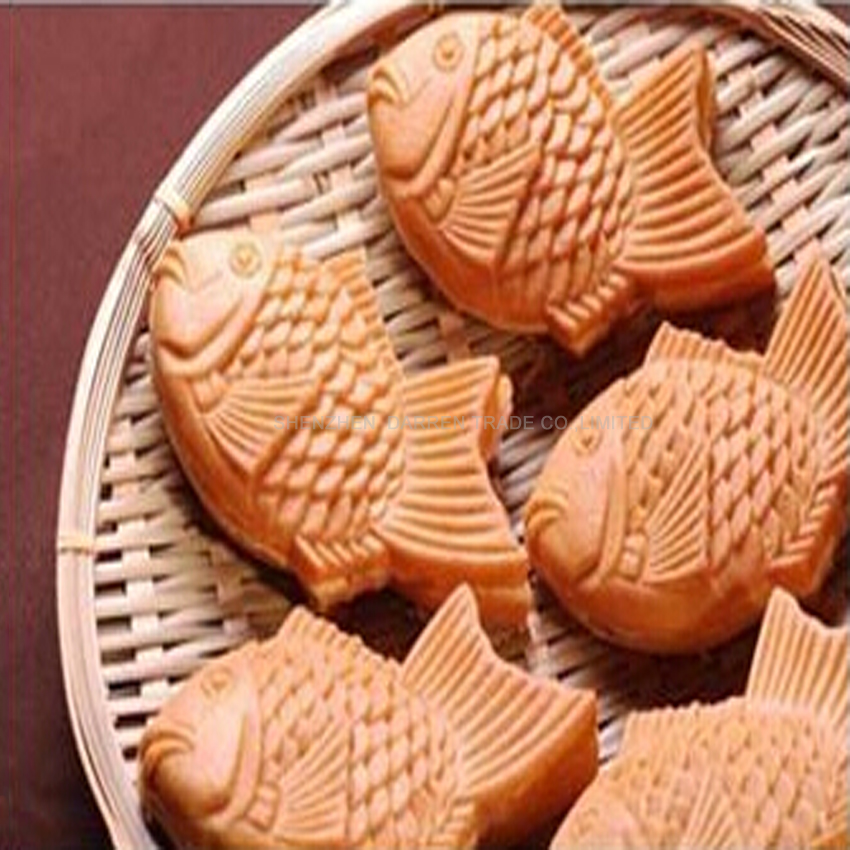 1 PC Gas grilled fish cake fish cake machine commercial snapper baked wheat cake machine scone machine muffin
