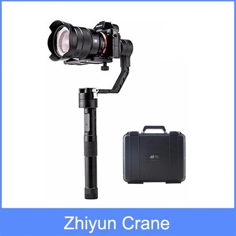 Zhiyun Crane 3-axis Stabilizer Handheld Gimbal for DSLR Canon,Nikon, Sony Alpha7 and Panasonic