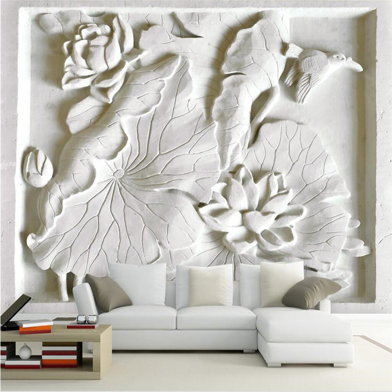 3d Wallpaper Mural Art Decor Picture Backdrop Modern
