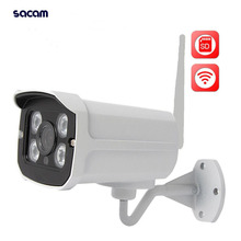 Onvif WiFi Bullet IP Camera Outdoor Yoosee 720P Wireless Security Camera SD Slot P2P H 264