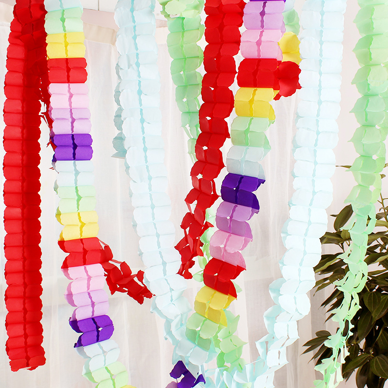 1pcopp bag clovers paper garland wedding marriage room decorate 1pcopp bag clovers paper garland wedding marriage room decorate birthday party the venue decoration shop wedding products in party diy decorations from junglespirit Gallery