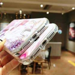 For Iphone 8 8plus X XR XS Max Marble Credit card case Iphone 6  Case for Iphone 7 7Plus Cover Soft TPU Silicone Phone case 4