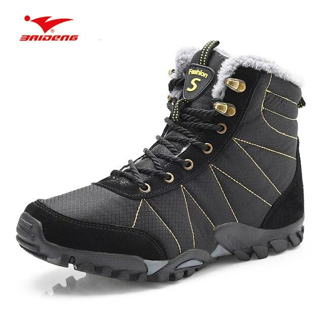 3290a092 Baideng talla grande 46 Botas de senderismo Hombre mujer zapatos deportivos  de piel para Hombre Zapatillas
