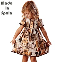 I Lollipop Luxury Flower Girl Dresses Clothes Puppy Doggy