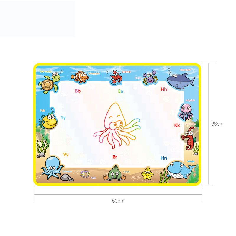 50x36cm-Baby-Kids-Add-Water-with-Magic-Pen-Doodle-Painting-Picture-Water-Drawing-Play-Mat-in-Drawing-Toys-Board-Gift-Christmas-2