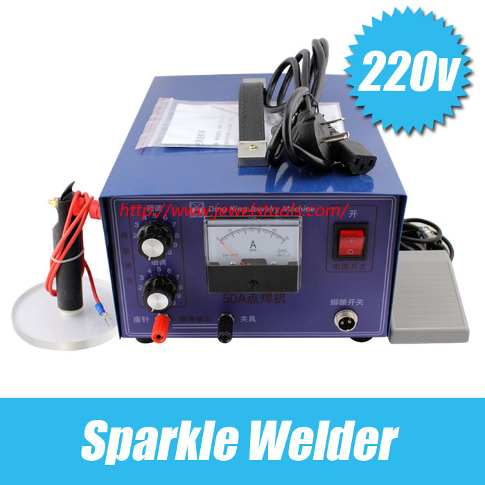 220V/50A Sparkle Welder Spot welding machine Jewelry necklace fine welding interface Adjustable pulse spot welding machine golds220V/50A Sparkle Welder Spot welding machine Jewelry necklace fine welding interface Adjustable pulse spot welding machine golds