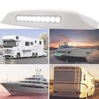 White 10 LED 3W Outside Light Motor home Awning Camper van Caravan 12V 6000K Ultra Bright Car Lamp Waterproof Light