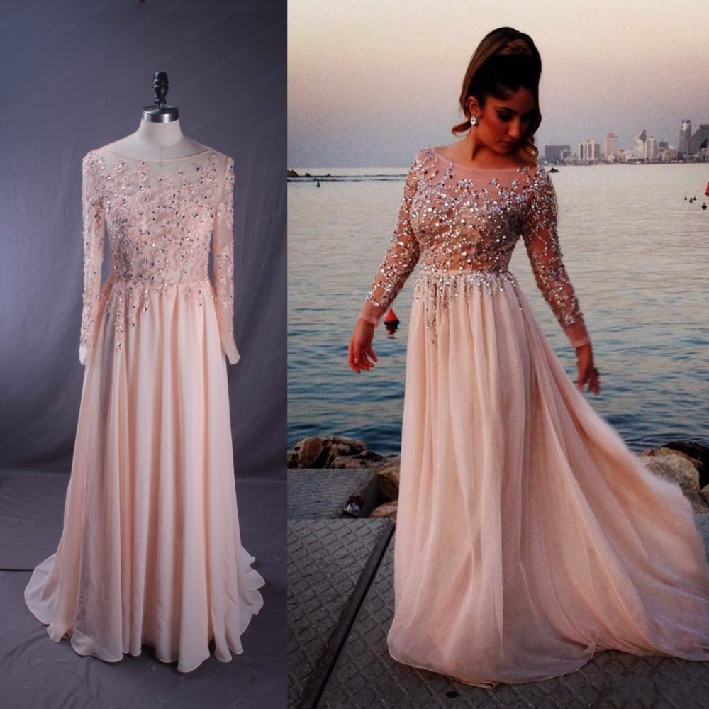 pink long sleeve plus size prom dresses dress images