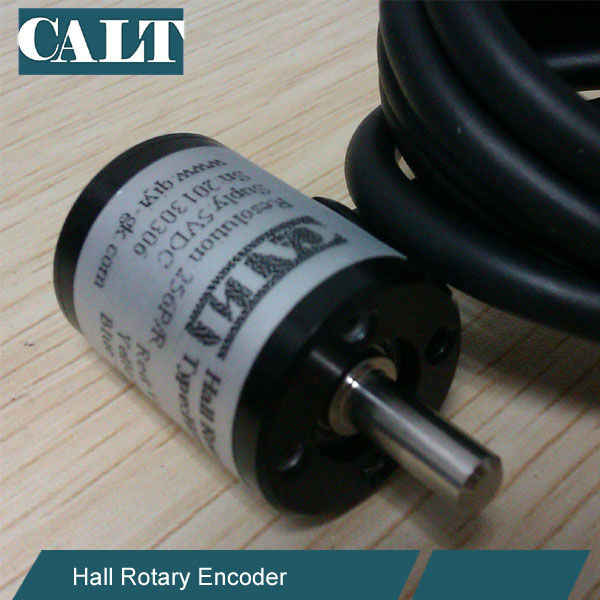 3.3v 12bit CALT HAE18 14 Bit 16384 Resolution Hall Magnetic Angle Rotary Encoder SSI Absolute Type