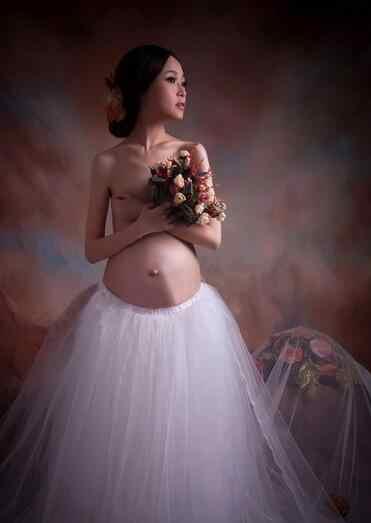 Nueva pareja maternidad fotografía props vestido de maternidad de encaje vestido de maternidad foto de verano vestido de embarazada de una talla