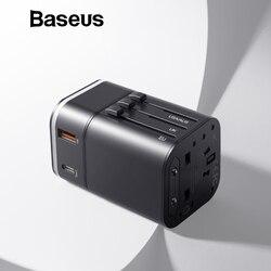 Baseus wsparcie szybkie ładowanie 3.0 dla Samsung ładowarka do telefonu PD 3.0 ładowarka do telefonu iPhone Chargeur USB 18 W podróży ładowarka na USB UE