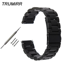 Quick Release Stainless Steel Watchband for Fossil Q Tailor Gazer Founder Wander