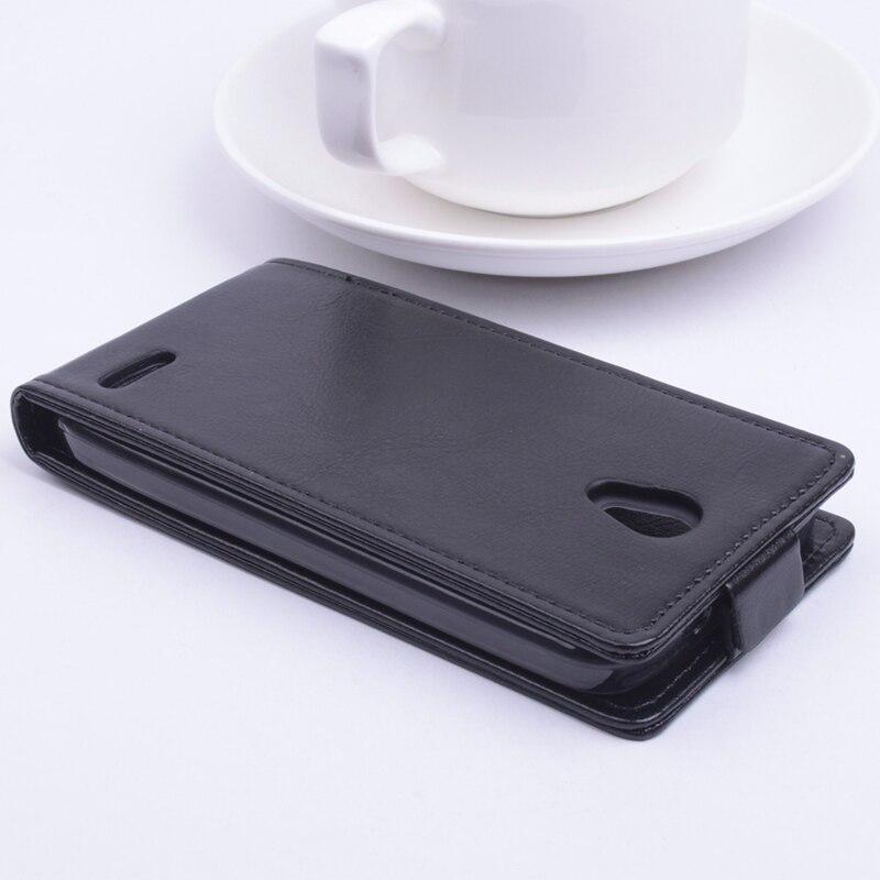 Luxury Balik Kulit Tutup Kasus untuk Alcatel One Touch Pop 2 Pop2 M5 - Aksesori dan suku cadang ponsel - Foto 4