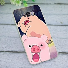 Cover for Samsung Galaxy J5 2017 EU Funny pig Phone Case for J6 J7 A5 2017 A6 A7 2018 A8 A9 A10 A20 A30 A40 A50 A70 J3 стоимость