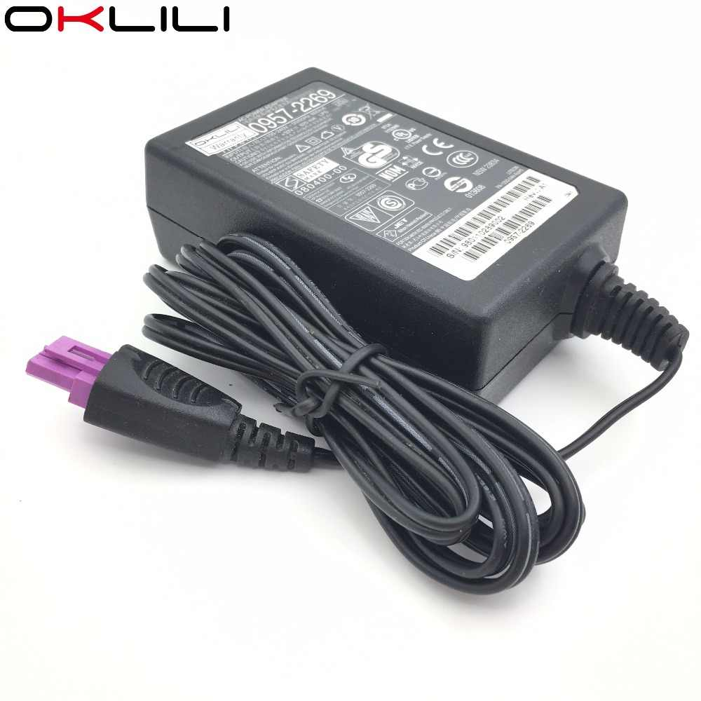 0957-2269 0957-2242 0957-2289 AC Adaptor Daya Charger Supply 32 V 625mA untuk HP F2410 f2420 F2423 F2430 F2460 F2476 F2480 F2483