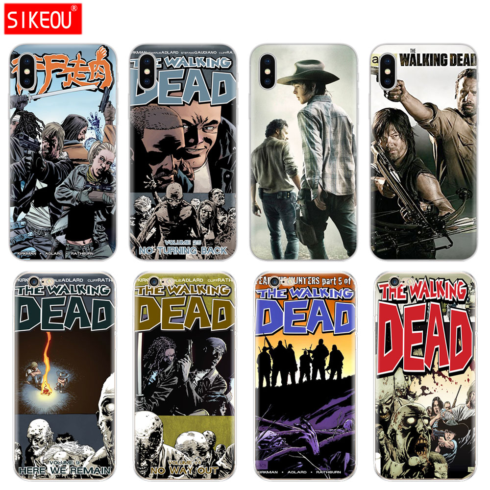 Super Hot TV The Walking Dead Case For IPhone 5 5S SE Cover Phone