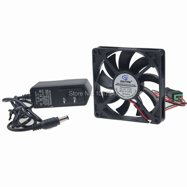 10pcs Lot Gdstime 80mm X 15mm 8015 Ac 100v 240v Cabinet Cooling Fan System