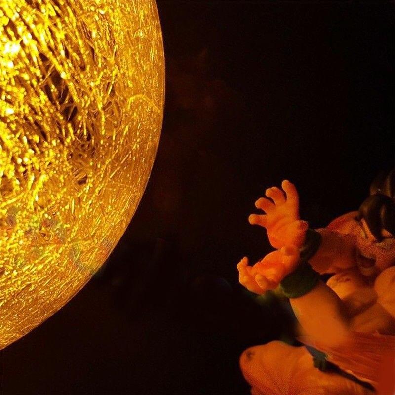 Dragon Ball Z Фигурки Гоку сон фигурка Коллекционная DIY аниме модель светодиодный светильник фигурка Подарочная коллекция игрушек - 6