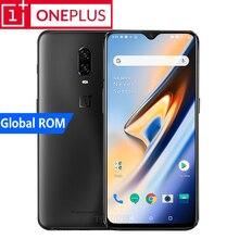 Yeni Orijinal Oneplus 6 T Akıllı Telefon 4G LTE Android 9.0 Octa Çekirdekli Snapdragon 845 8 + 128/ 256G Ekran Parmak Izi Destek...