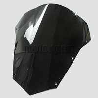 Black Windscreen For 2003 2008 Yamaha FZ6 FZ 6 Fazer Motorcycle Windshield 03 04 05 06