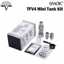 เดิมS MOK TFV4ถังมินิเต็มชุด3.5มิลลิลิตรด้านบนเติมSubโอห์มถังพอดีเครื่องฉีดน้ำสำหรับSMOK Xcubeสมัยขนาดเล็กVaporizer