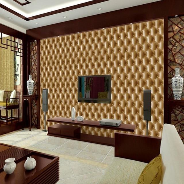 US $34.45 35% di SCONTO|Beibehang desktop rotolo di carta da parati  stereoscopica sfondo TV camera da letto comodino 3D carta da parati per  soggiorno ...