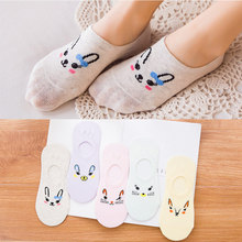 5 Pairs/Lot Spring Summer Thin Boat Socks Candy Color Invisible Fashion Women Casual Cotton Breathable Ankle Boot Colors