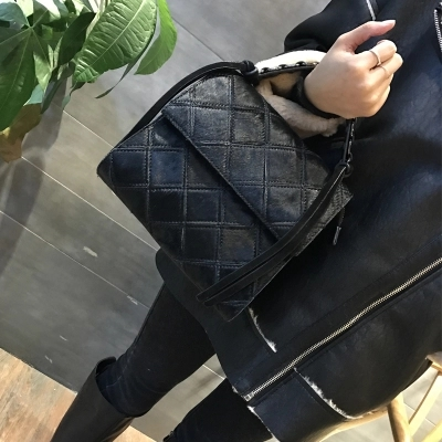 Fourre Sauvage 1 Coréenne Vintage 2019 Épaule tout Diamant Mode cpE7yWWqI