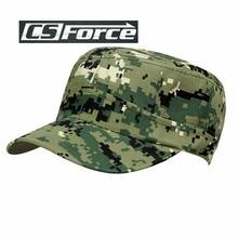 Estate Camouflage Cadetto del Contraente Della Protezione di Caccia  Regolabile Cap Mens Militare Patrol Combattimento Berretto dcf9eff185f3