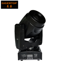 TIPTOP TP L6Q2 60W Led Moving Head Light Color Wheel/Gobo Wheel 3 Facet Prism Rotation Electronic Zoom 13 Degree Beam Angle
