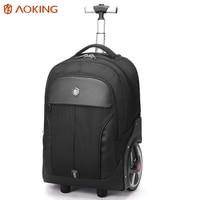 Aoking для мужчин's ABS тележки для багажа дорожные сумки большой ёмкость тележки Сумки водостойкие Carry on бизнес багаж для путешествий