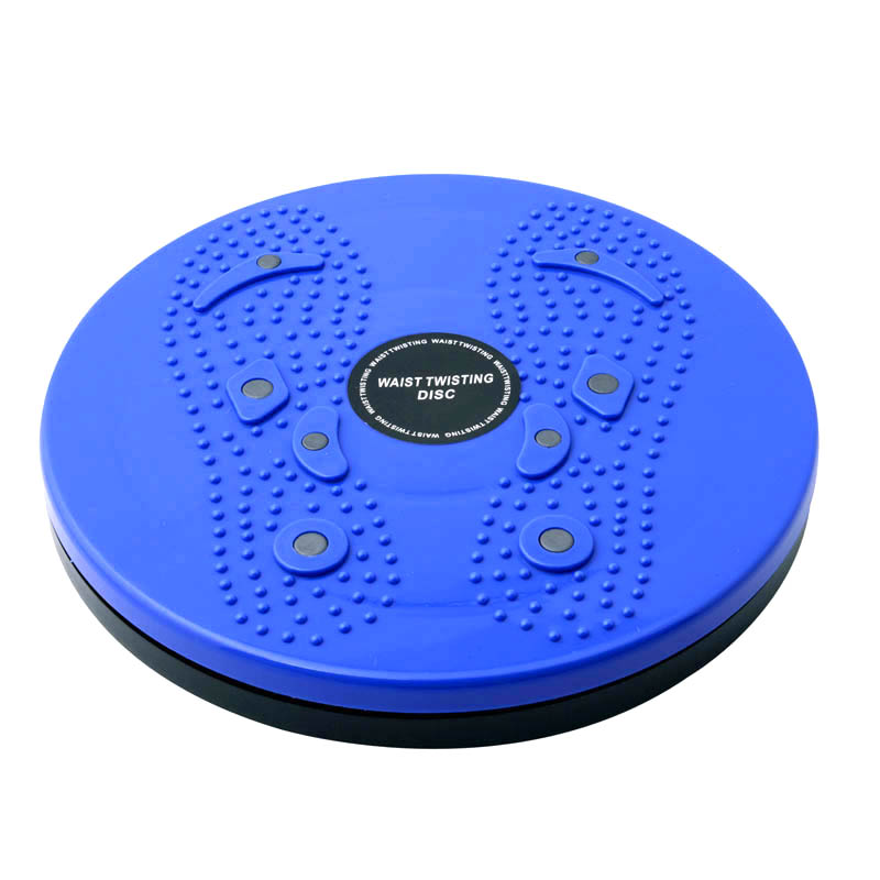 Waist Twisting Disc Magnetic Plate Sports Fitness Board Weight Loss Leg Exercise Stretching Body Shaping Training 55 XR-