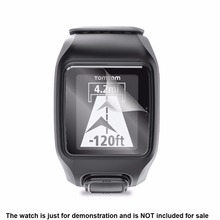 3x Clear LCD Screen Protector Guard Cover Shield Film Skin for TomTom Multi-Sport Cardio GPS Smart  Watch Accessories