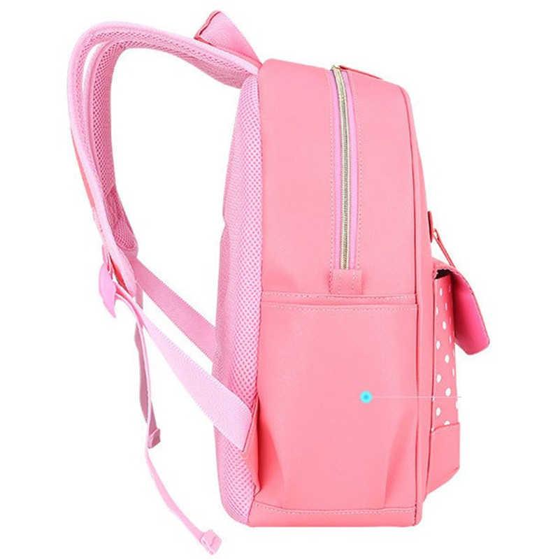 2020 dziewczyny szkoła torby plecak dla dzieci podstawowa torba na książki ortopedyczne księżniczka tornister D052
