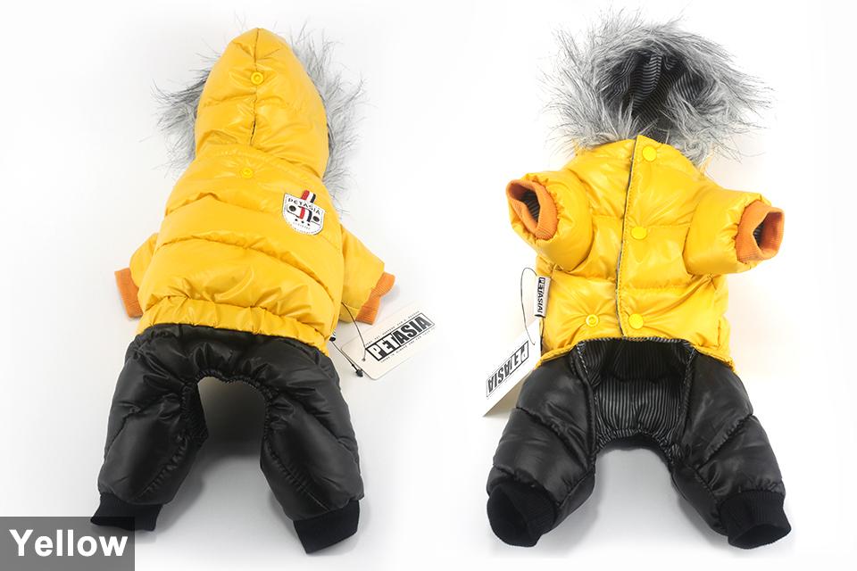 Chaqueta impermeable de invierno para perro 9