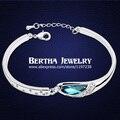 Personality Brand Bracelets & Bangles Wristband Jewellery Women Feminina With Swarovski Elements Crystal Bijoux Charm Jewrly