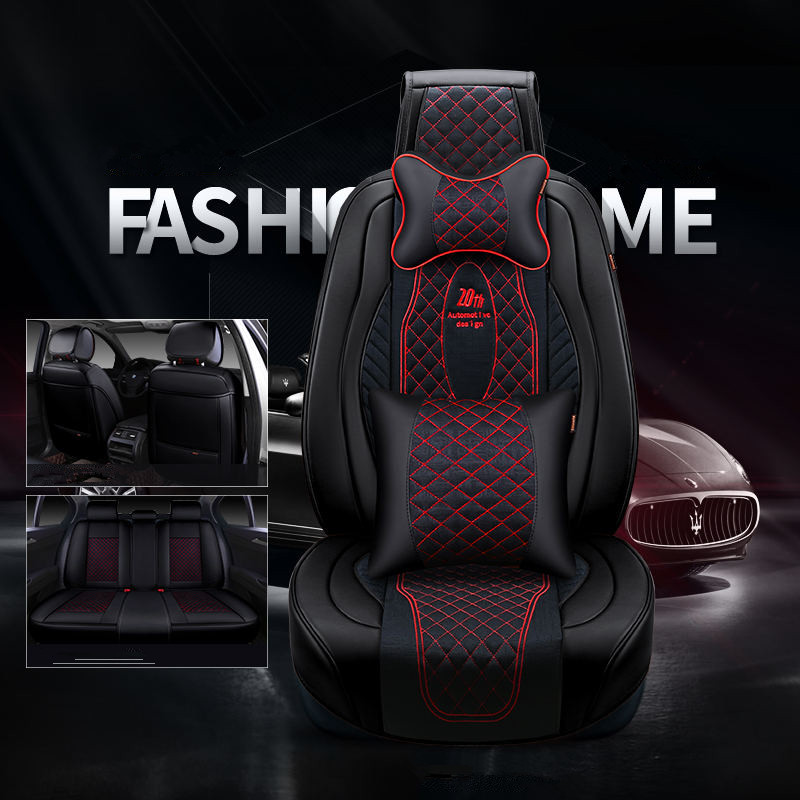 New 3D sports car seat cover universal cushions, top leather, car styling for the BMW Audi Toyota Honda CRV modern Nissan SUV