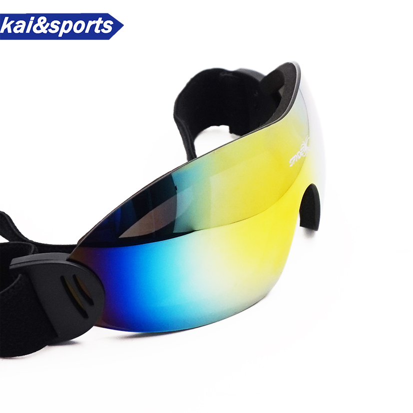 New Profession Ski Goggles Skiing Goggles Snowboard Goggles Simple Light Windproof Ski Glasses For Men Women Frameless Design