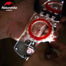 NatureHike Luminous Compass With Mirror