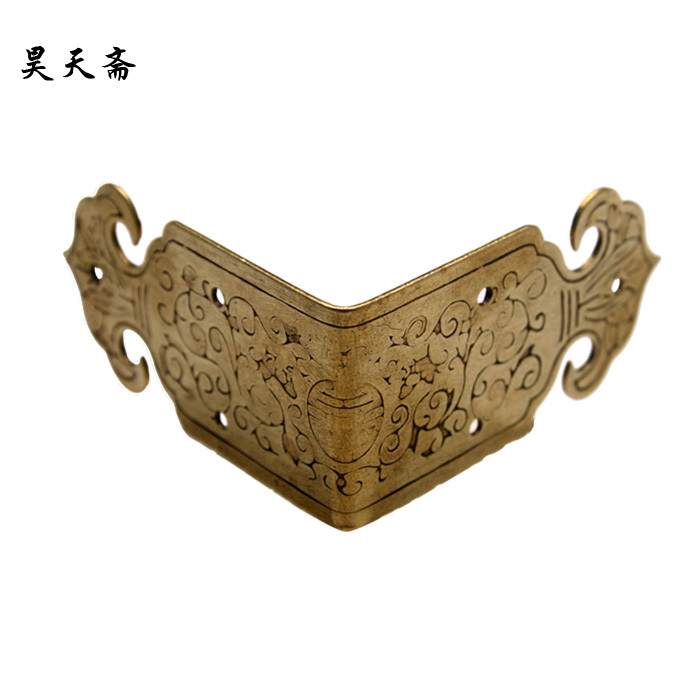 [Haotian vegetarian] special! Antique Chinese on both sides of wishful corners HTG-017