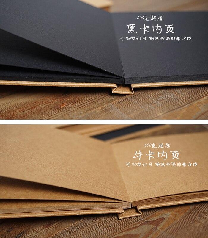 Amato Kraft spessore libro a copertina rigida carta blank scrapbooking  AT74