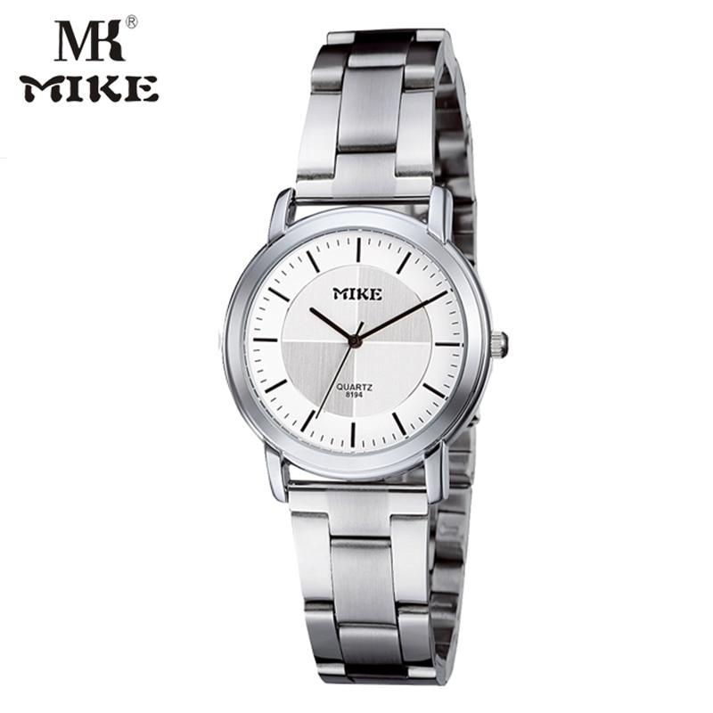 MK Mike Fashion Dress Watch Men Watch Lady Watch Wristwatch Lovers Watch Clock Water Resistant Bayan Saat Erkek Kol Saati Montre