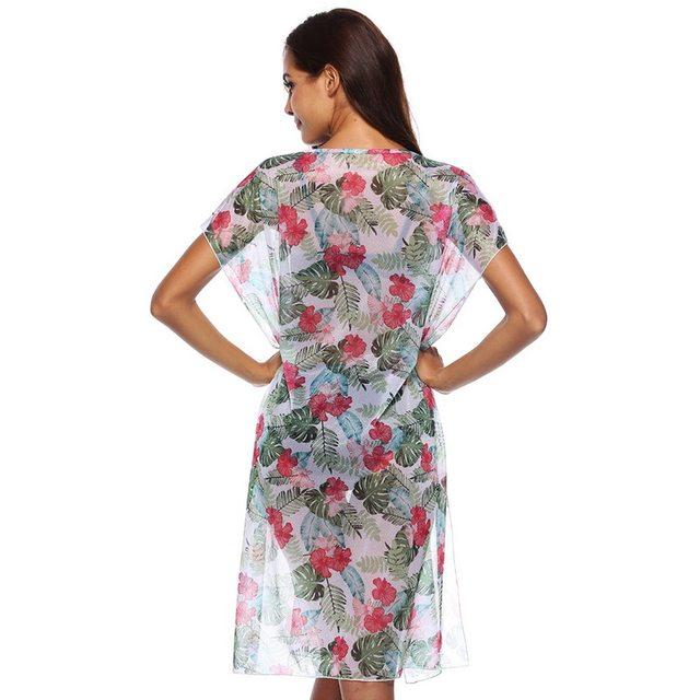 ebda3b2650c98 LASPERAL Boho Long Maxi Floral National Chiffon Dress 2018 Women Summer  Vintage Party Split Beach Dress Floral Sundress Vestidos