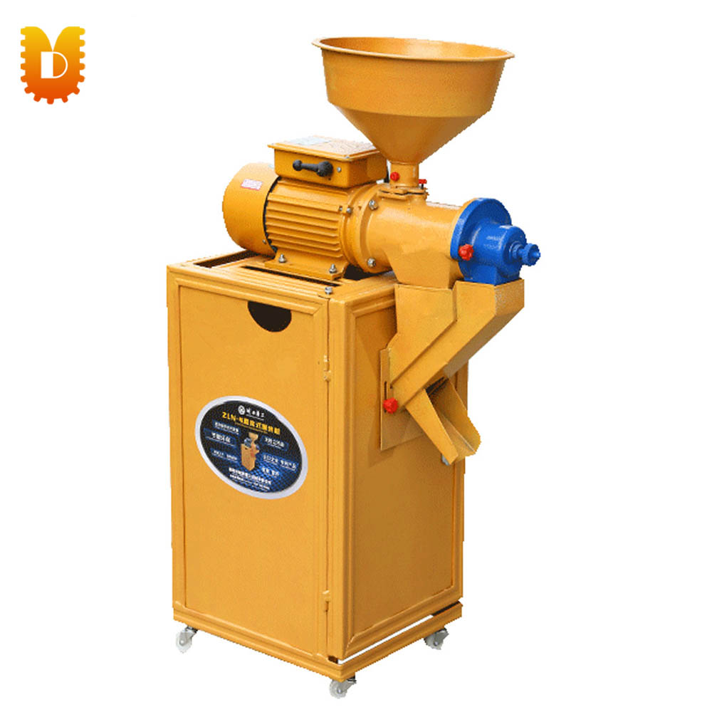 Directly connected 3kw Copper Motor Portable Rice Milling Machine