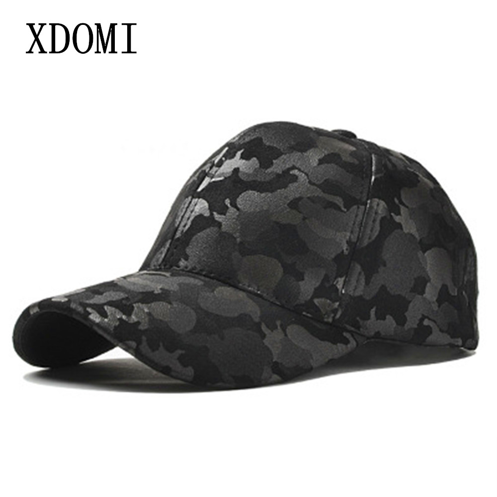 XDOMI Men Fashion Spring Baseball Hat Leather Suede Camouflage Baseball Cap Snapback Unisex Hip Hop Caps Women Casual Hat cntang men women suede baseball cap snapback street hip hop hat winter autumn fashion vintage caps for unisex brand casual hats