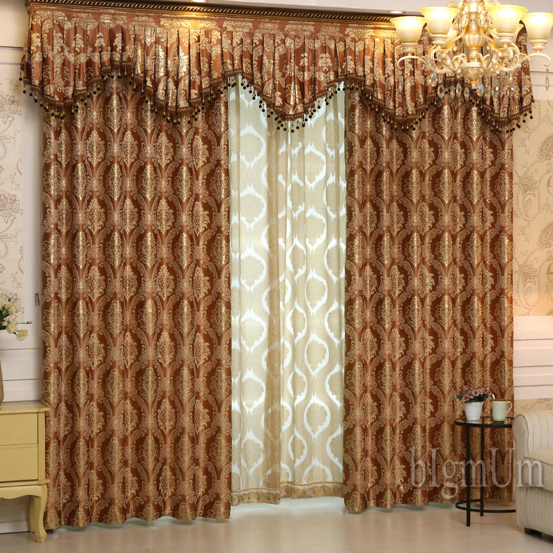 images curtains living room aliexpress buy luxury window curtains valance for 13789